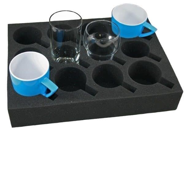 HABA Foam houder glazen en kopjes