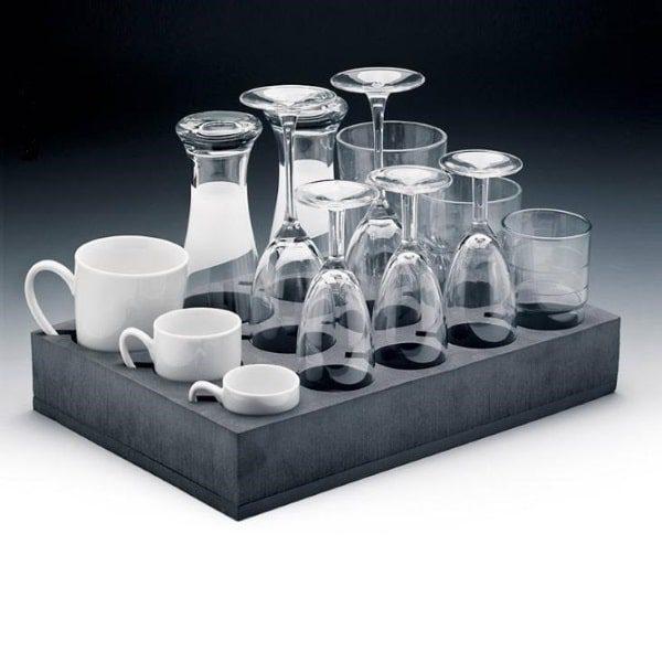 Haba houder voor glazen en kopjes