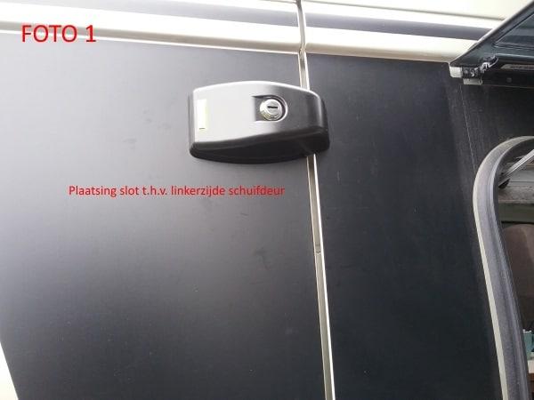 plaatsing HEOSolutions slot schuifdeur linkerzijde foto 1
