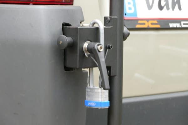 vannbike met extra hangslot