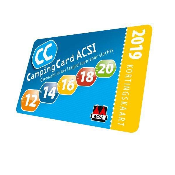 ACSI CampingCard ACSI kortingkaart
