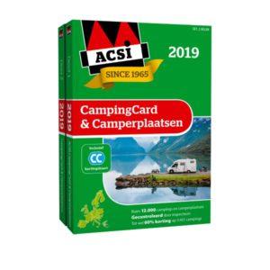 ACSI CampingCard & Camperplaatsen ACSI 2019