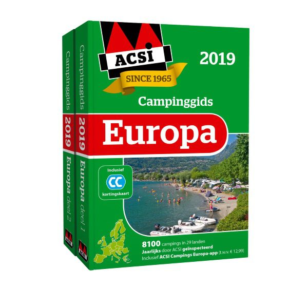 ACSI Campinggids Europa Inclusief app 2019