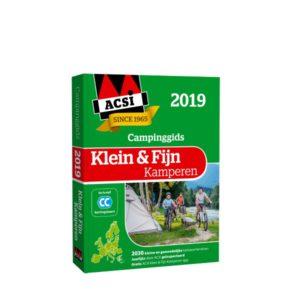 ACSI Klein & Fijn Kamperen campinggids 2019