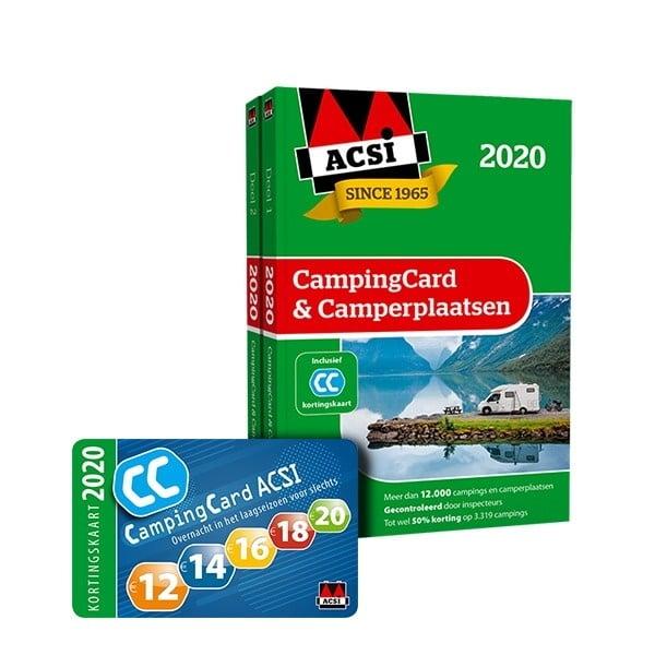 ACSI CampingCard & Camperplaatsen 2020