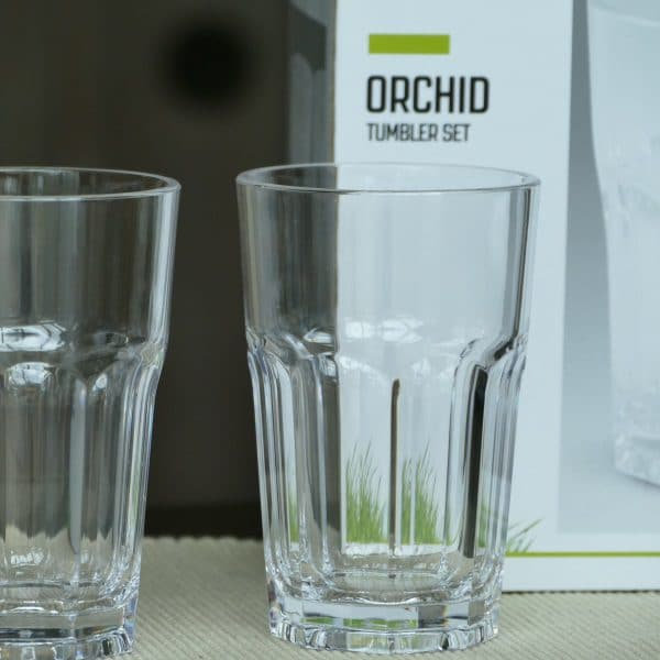 outwell glazen orchid 4 st.