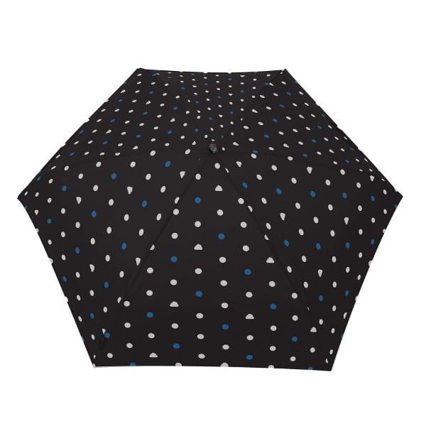 Opvouwbare paraplu Pois Nuage blauwe stippen