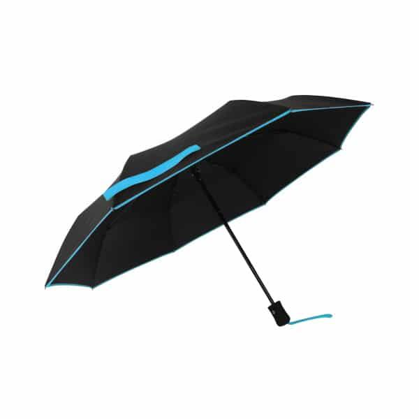 opvouwbare paraplu eco petit bordure aqua