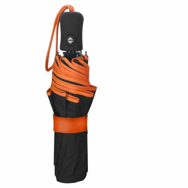 Opvouwbare paraplu ECO Petit Bordure - Oranje