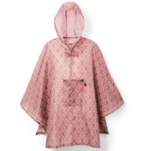 Reisenthel Mini Maxi poncho Diamonds Rouge