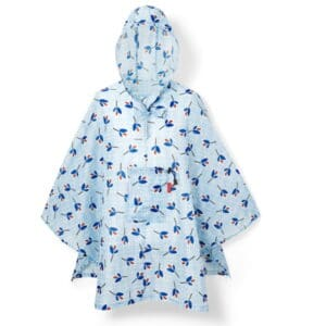 Reisenthel Mini Maxi Poncho - Leaves Blue