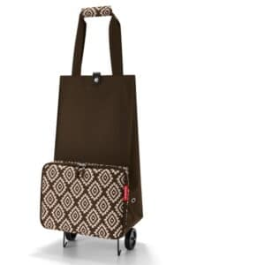 Reisenthel opvouwbare trolley Diamond Mocha